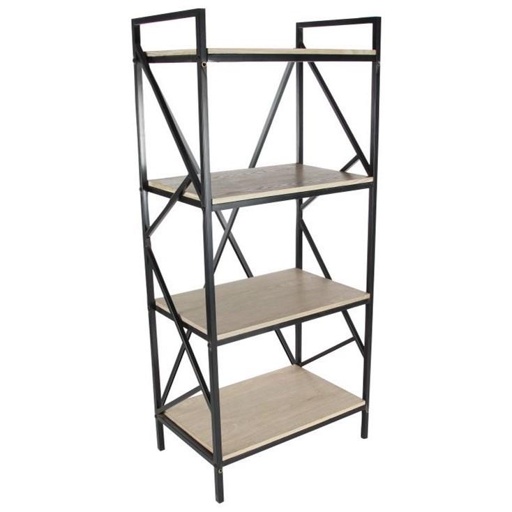 Accent Furniture Metal/Wood Shelf by UMA Enterprises, Inc. at Wilcox Furniture