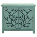 UMA Enterprises, Inc. Accent Furniture Wood/Metal Cabinet - Item Number: 60135