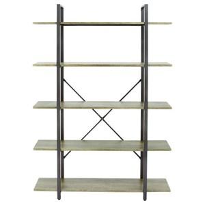 UMA Enterprises, Inc. Accent Furniture Metal/Wood Shelf