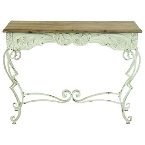 UMA Enterprises, Inc. Accent Furniture Metal/Wood Console Table