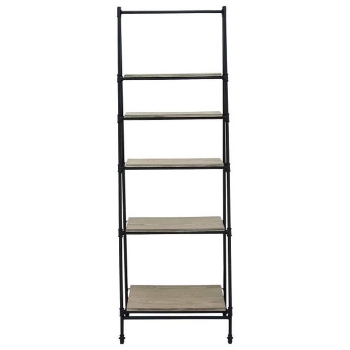 Accent Furniture Metal/Wood Shelf Stand by UMA Enterprises, Inc. at Wilcox Furniture