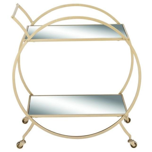 Metal/Mirror Cart