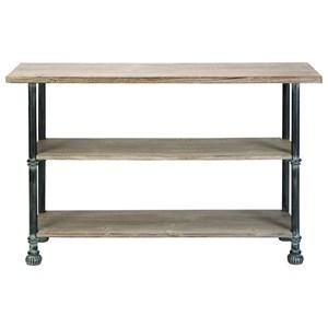 UMA Enterprises, Inc. Accent Furniture Wood/Metal Console