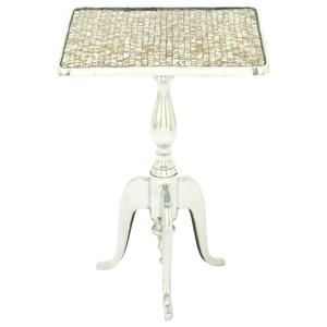 UMA Enterprises, Inc. Accent Furniture Aluminum Mosaic Square Accent Table