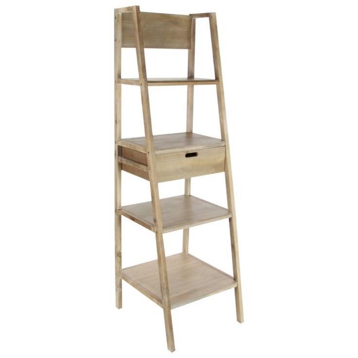 Wood Brown Storage Shelf