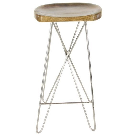 Accent Furniture Wood/Metal Bar Stool by UMA Enterprises, Inc. at Wilcox Furniture