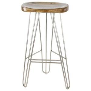 UMA Enterprises, Inc. Accent Furniture Wood/Metal Bar Stool