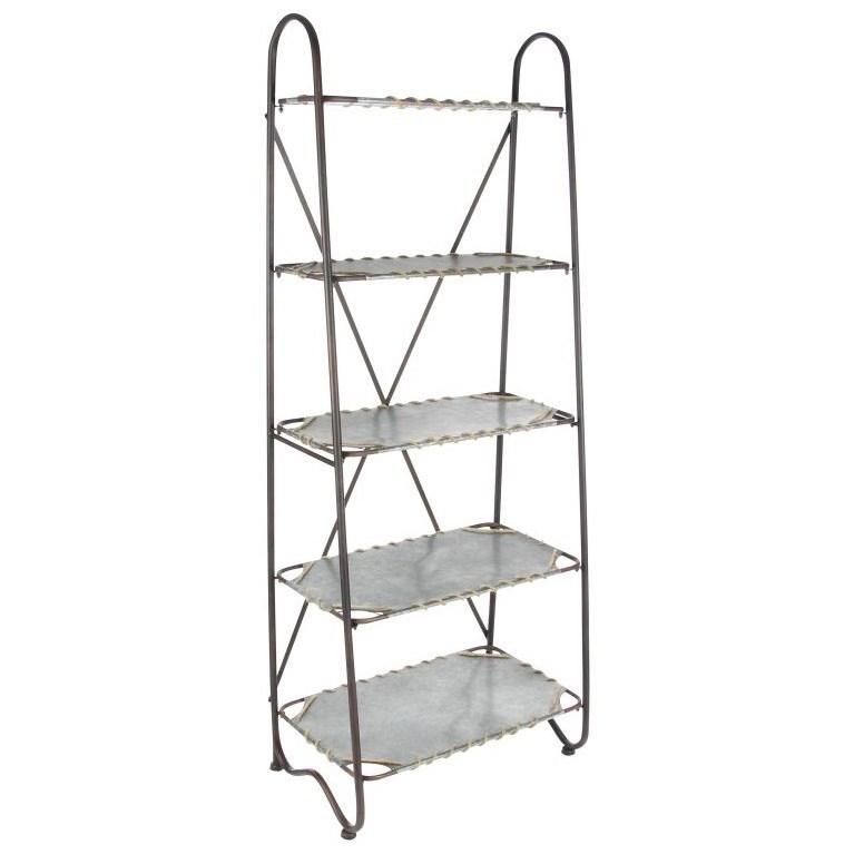Accent Furniture Metal Shelf by UMA Enterprises, Inc. at Wilcox Furniture