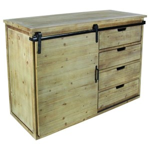 UMA Enterprises, Inc. Accent Furniture Wood/Metal Cabinet
