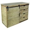 UMA Enterprises, Inc. Accent Furniture Wood/Metal Cabinet - Item Number: 84246