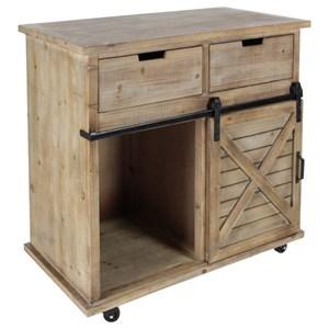 UMA Enterprises, Inc. Accent Furniture Wood/Metal Storage Cabinet