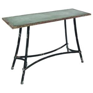 UMA Enterprises, Inc. Accent Furniture Metal Console Table
