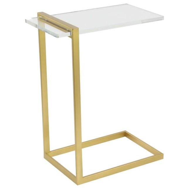 Accent Furniture Metal/Acrylic Accent Table by UMA Enterprises, Inc. at Wilcox Furniture