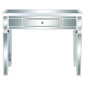 UMA Enterprises, Inc. Accent Furniture Wood/Mirror Console Table