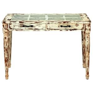 UMA Enterprises, Inc. Accent Furniture Wood/Glass Console Table