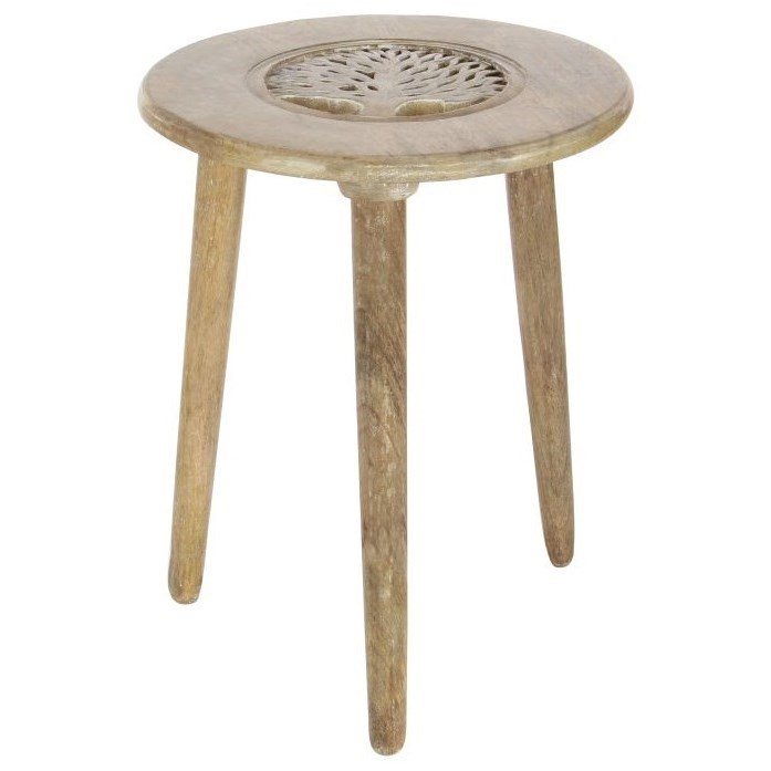 Wood Tripod Table