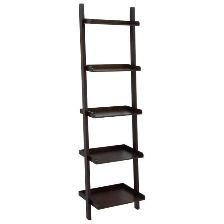 Accent Furniture Wood Leaning Shelf by UMA Enterprises, Inc. at Wilcox Furniture