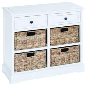 UMA Enterprises, Inc. Accent Furniture Wood Basket Chest