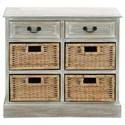 UMA Enterprises, Inc. Accent Furniture Wood 4 Basket Chest - Item Number: 96285