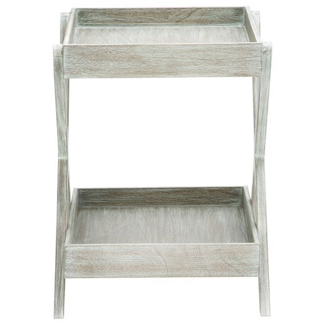 Wood Accent Tray Table