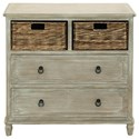 UMA Enterprises, Inc. Accent Furniture Wood Basket Chest - Item Number: 96338
