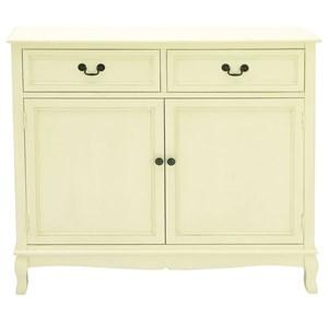UMA Enterprises, Inc. Accent Furniture Wood White Cabinet