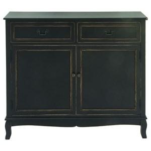 UMA Enterprises, Inc. Accent Furniture Wood Black Cabinet