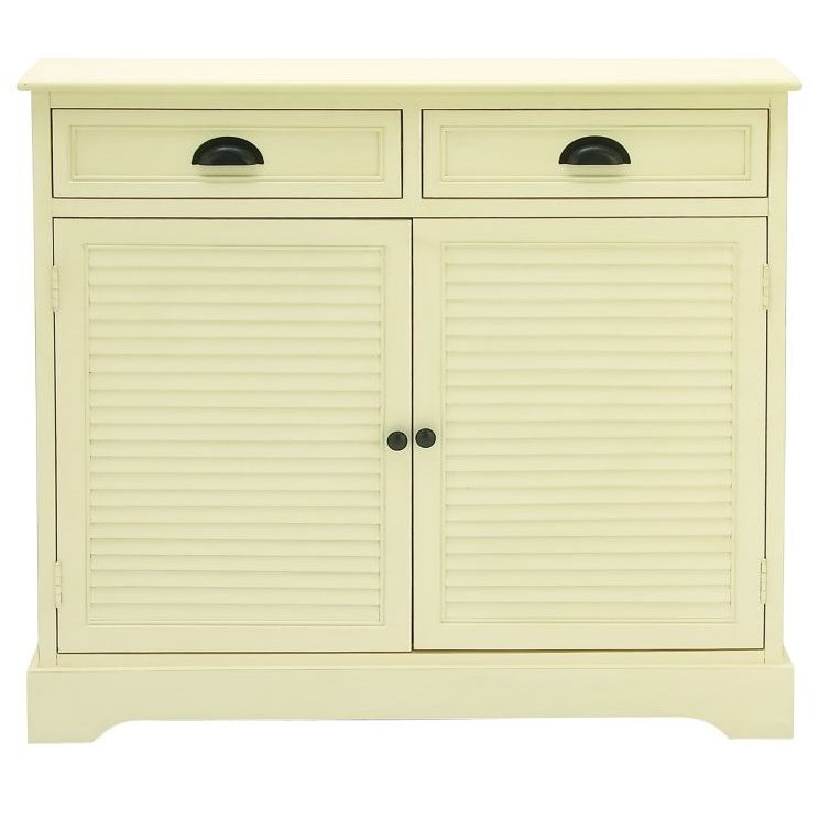 Wood White Cabinet