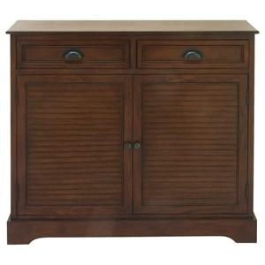 UMA Enterprises, Inc. Accent Furniture Wood Brown Cabinet