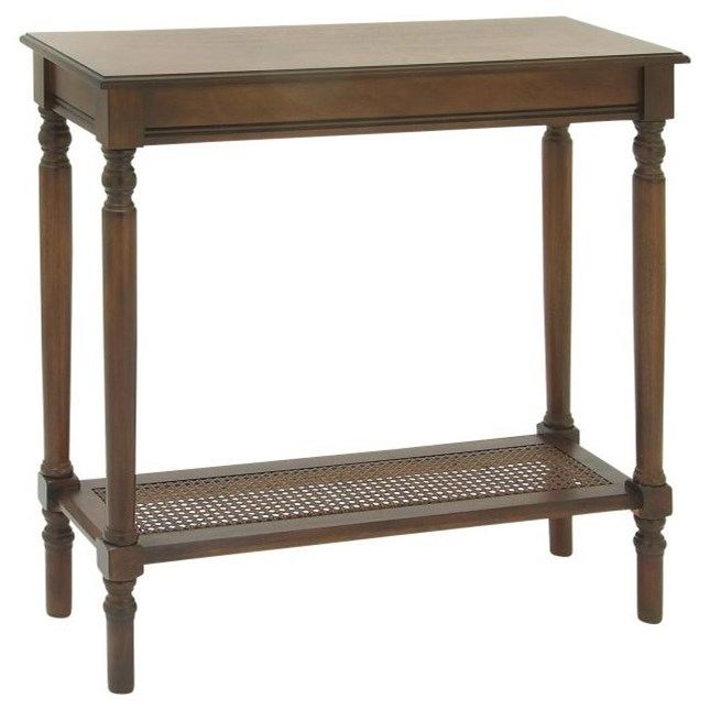Wood Brown Console Table