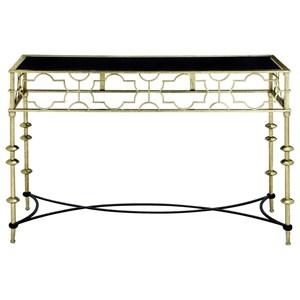 UMA Enterprises, Inc. Accent Furniture Metal/Glass Console Table
