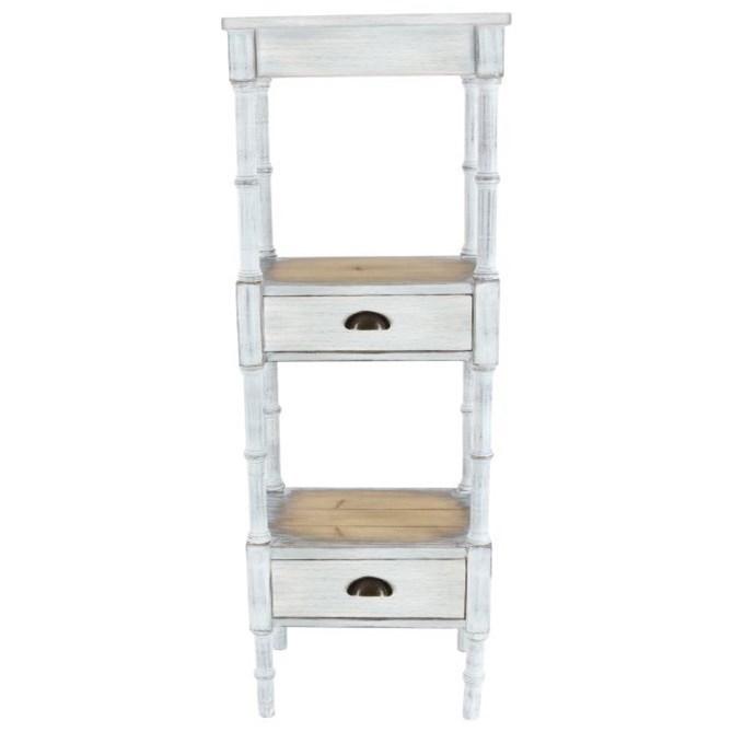 Accent Furniture Wood Storage Shelf by UMA Enterprises, Inc. at Wilcox Furniture