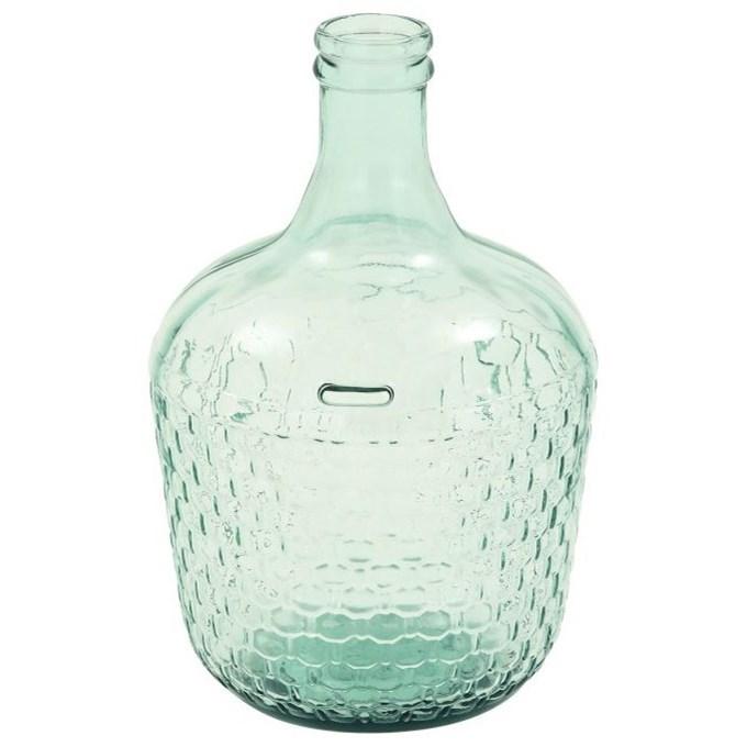 Glass Wide Bottle Vase