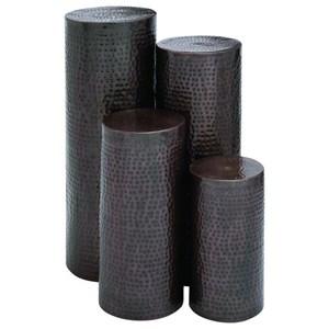 UMA Enterprises, Inc. Accessories Metal Pedestals, Set of 4