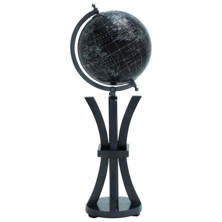 Wood/Metal Globe