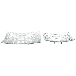 UMA Enterprises, Inc. Accessories Aluminum Trays, Set of 2