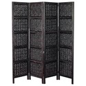 UMA Enterprises, Inc. Accessories Wood 4 Panel Screen - Item Number: 32618