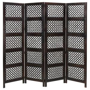 UMA Enterprises, Inc. Accessories Wood 4 Panel Screen
