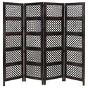 UMA Enterprises, Inc. Accessories Wood 4 Panel Screen - Item Number: 34010