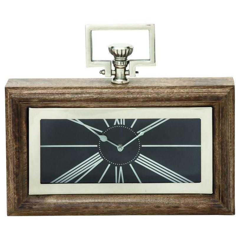 Wood/Steel Clock