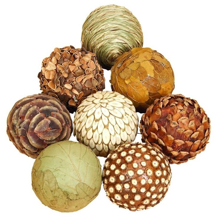 Natural Ball, Set of 8