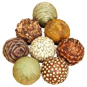 UMA Enterprises, Inc. Accessories Natural Ball, Set of 8