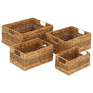 Seagrass Baskets, Set of 4