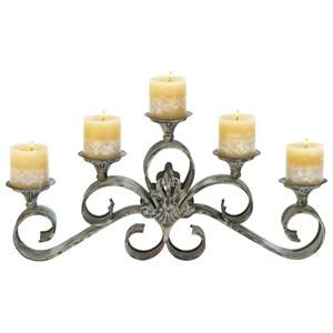 UMA Enterprises, Inc. Accessories Metal Candle Holder