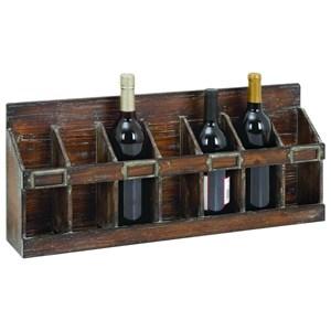 UMA Enterprises, Inc. Accessories Wood Wine Rack