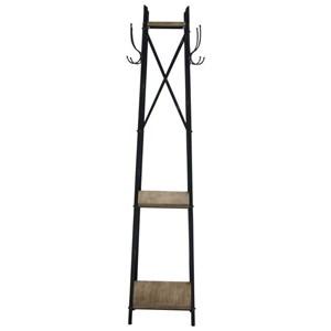 UMA Enterprises, Inc. Accessories Metal/Wood Coat Rack