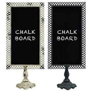 UMA Enterprises, Inc. Accessories Metal Blackboards, Set of 2