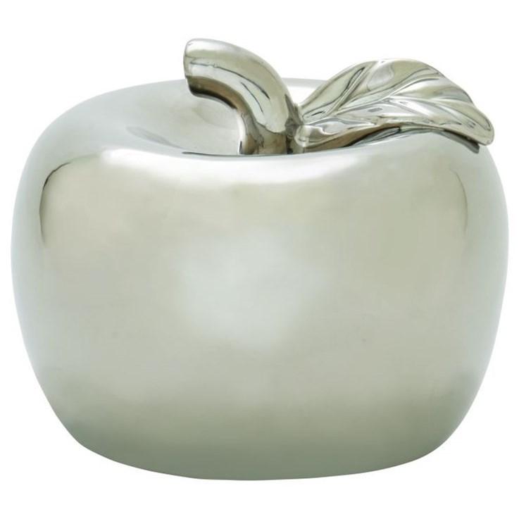 Ceramic Silver Apple