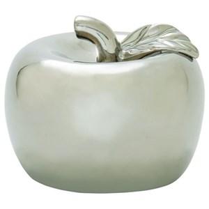 UMA Enterprises, Inc. Accessories Ceramic Silver Apple