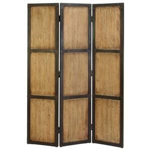 UMA Enterprises, Inc. Accessories Wood 3 Panel Screen